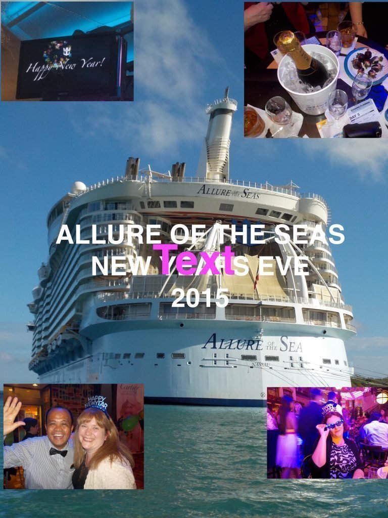 New Year eve on Allure of the Seas