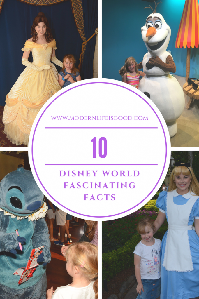 10 Disney World Fascinating Facts was one of the very first articles we published here on Modern Life is Good. We have decided to give the article a spring clean for 2018. However, the facts remain mildly interesting and relevant! How many of them do you know?