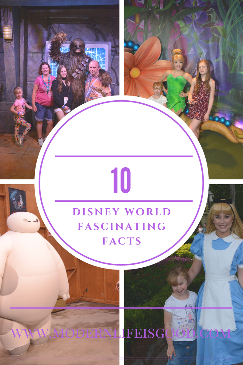 10 Disney World Fascinating Facts Modern Life Is Good