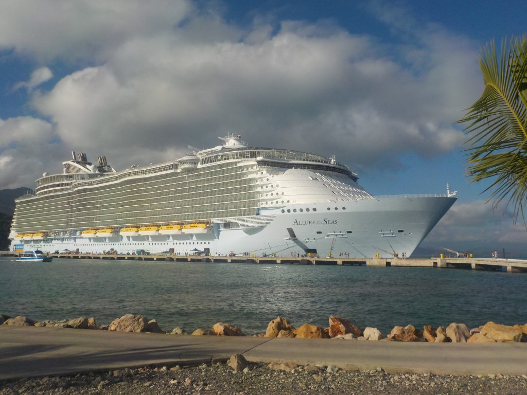 Allure of the Seas in Labadee Haiti
