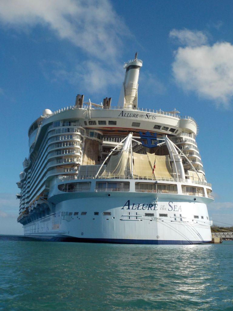 Largest cruise ships in the World - Allure of the Seas