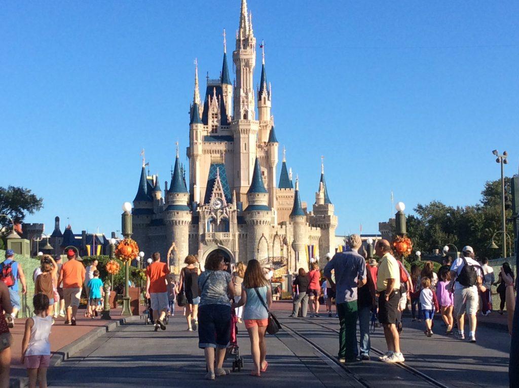 Magic Kingdom Disney World Cinderella's castle
