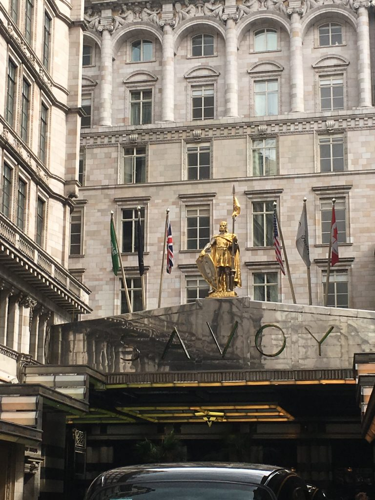 Review Savoy the Strand london