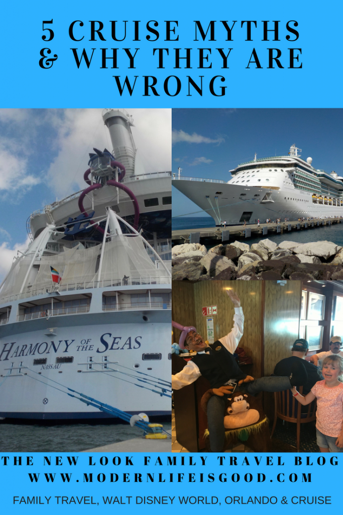 Despite the increasing popularity of cruising many people are still put off going on a cruise due to various misconceptions. Today we highlight 5 of the biggest Cruise Myths and why you should consider a cruise for your next vacation.
