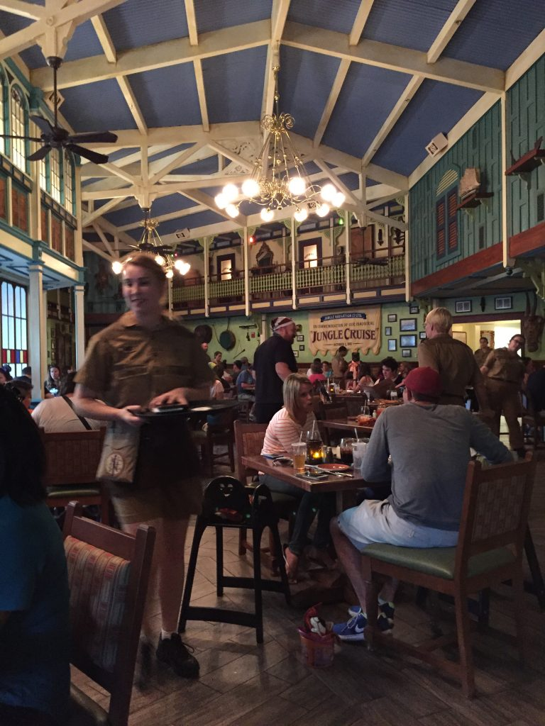 Adventureland Magic Kingdom Skipper Canteen Disney Dining Plan