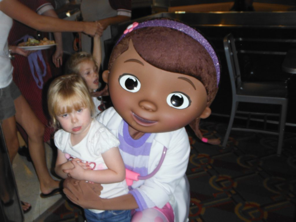 Hollywood & Vine Doc McStuffins Disney World Character Meals