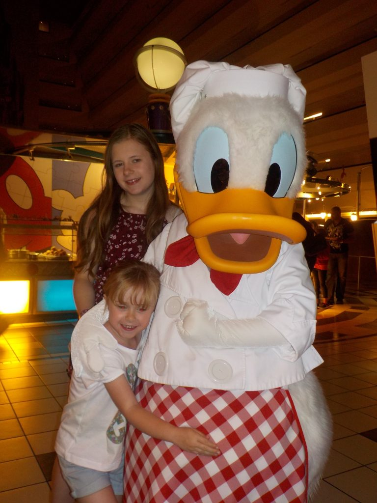 Donald Duck Chef Mickey's Disney World Character Meals
