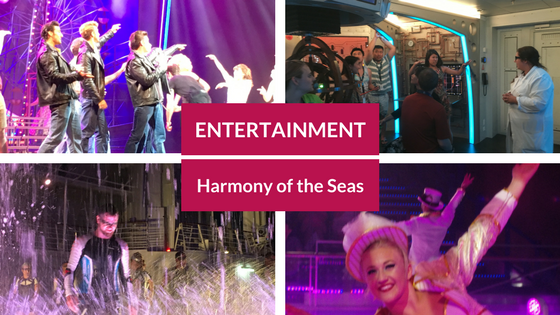 Entertainment on Harmony of The Seas