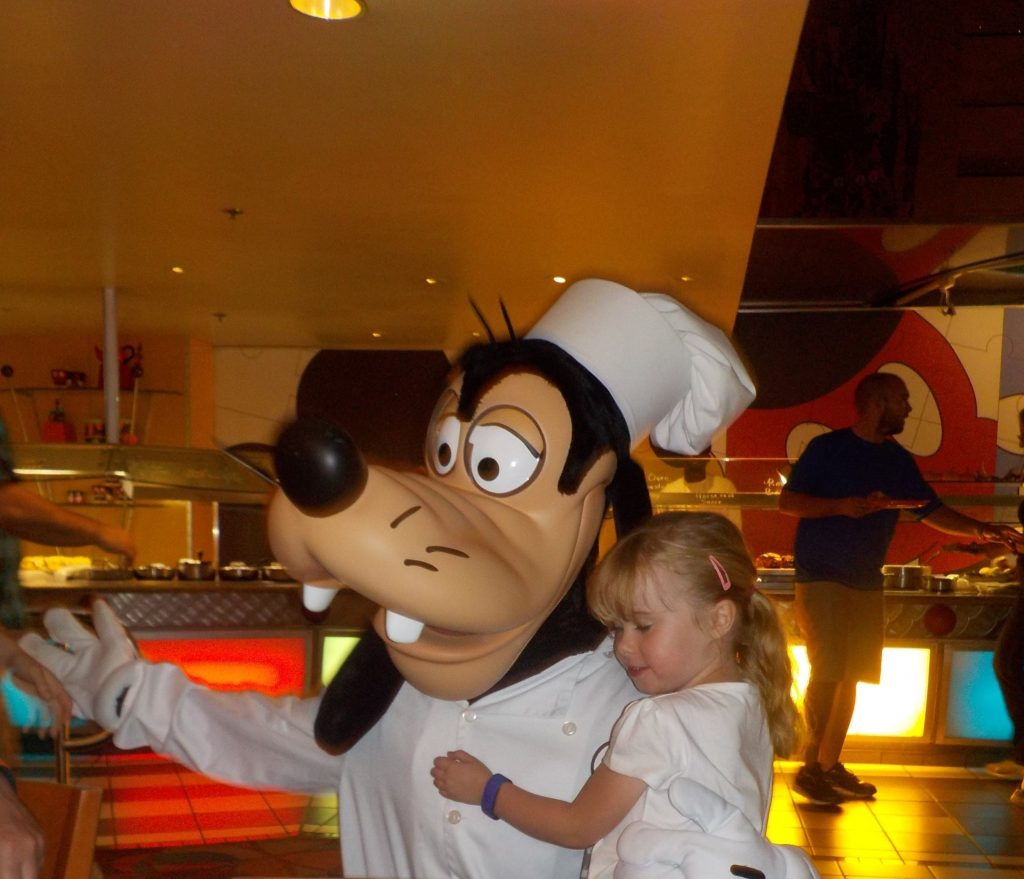 Goof at Chef Mickey's