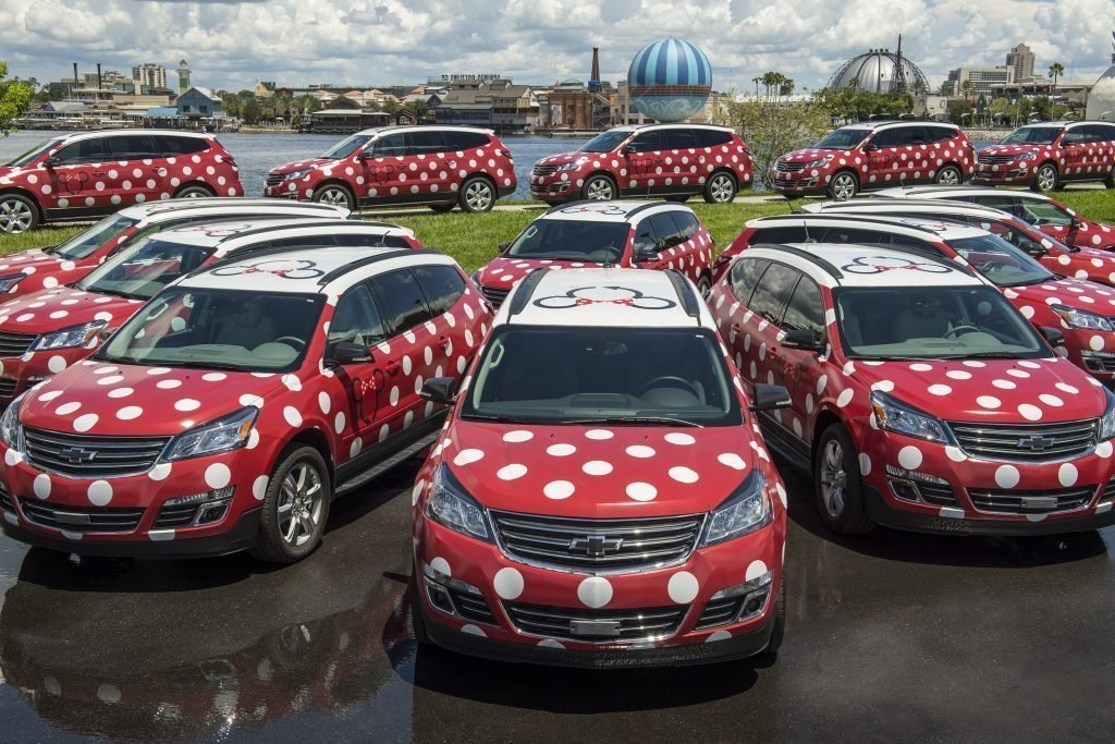 Guide Walt Disney World Transport including new Minnie Van Service