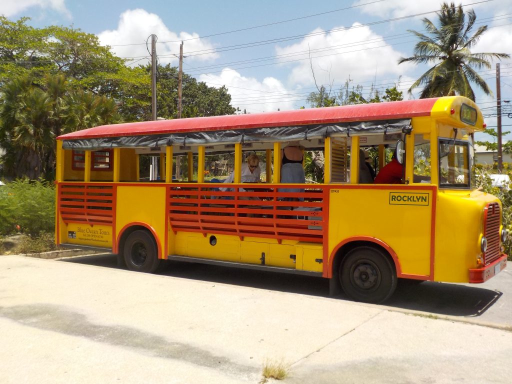 Bajan open Bus Barbados beach Hop Island Style #1 Bajan Bus