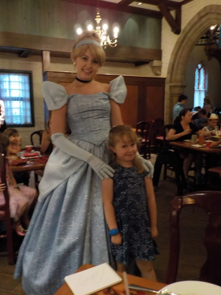 Meeting Cinderella Akershus Royal Banquet Hall Princess Storybook Dining