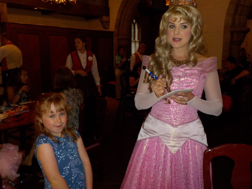 Aurora Princess Storybook Dining Epcot Norway World Showcase