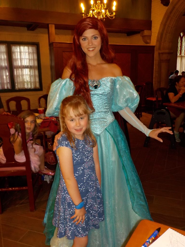 Ariel Princess Storybook Dining Epcot Norway
