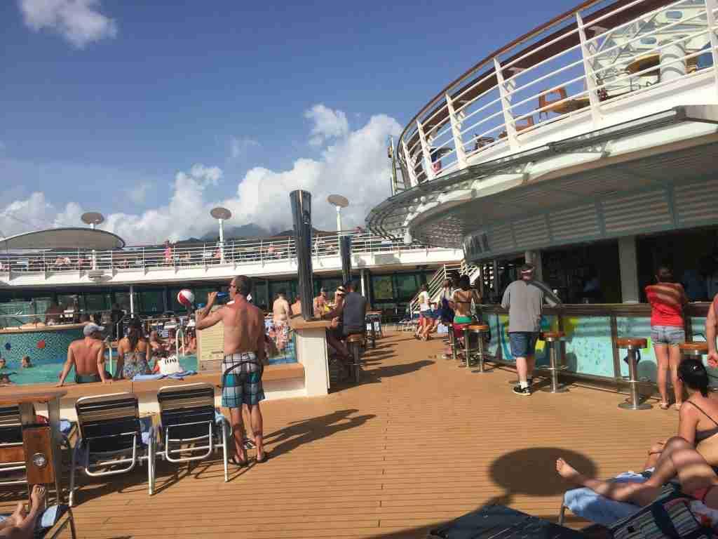 Pool Deck Jewel of the Seas