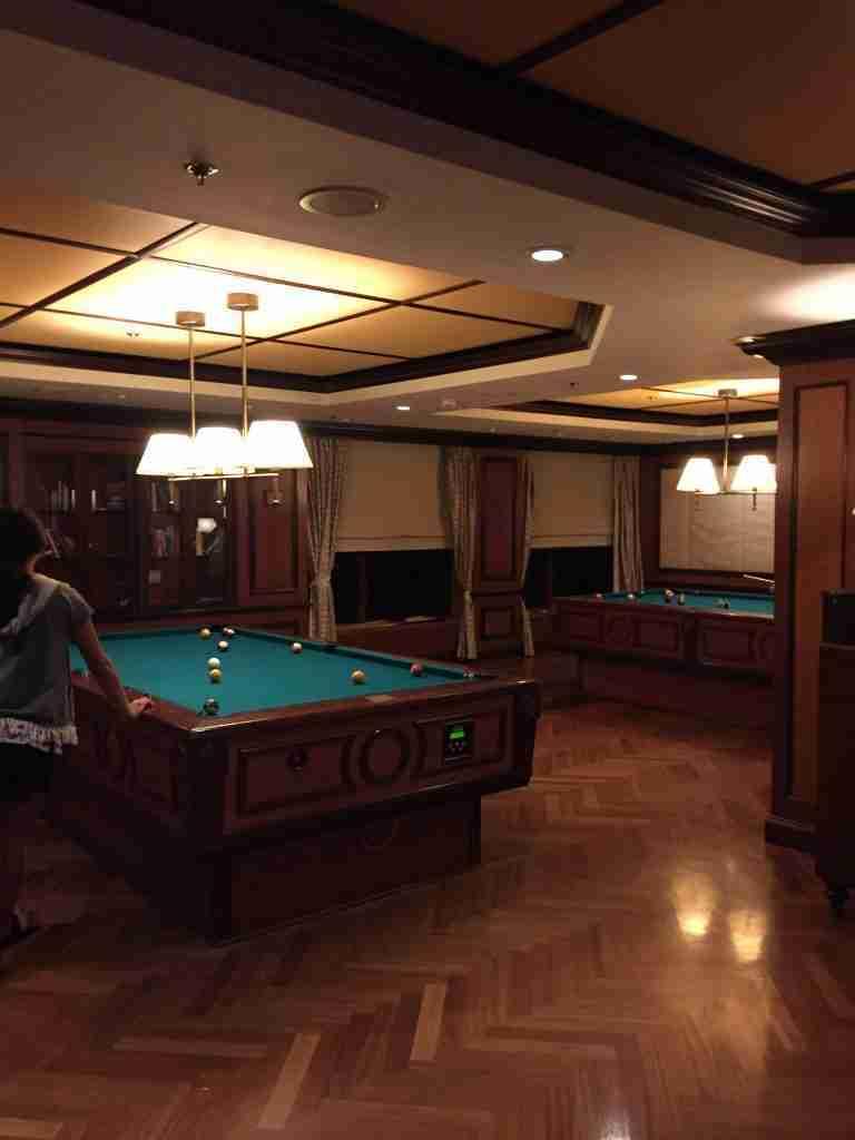 Pool table Safari Club jewel of the Seas self levelling