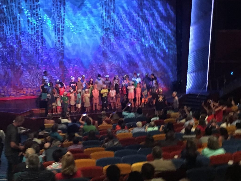Coral theatre Jewel of the Seas