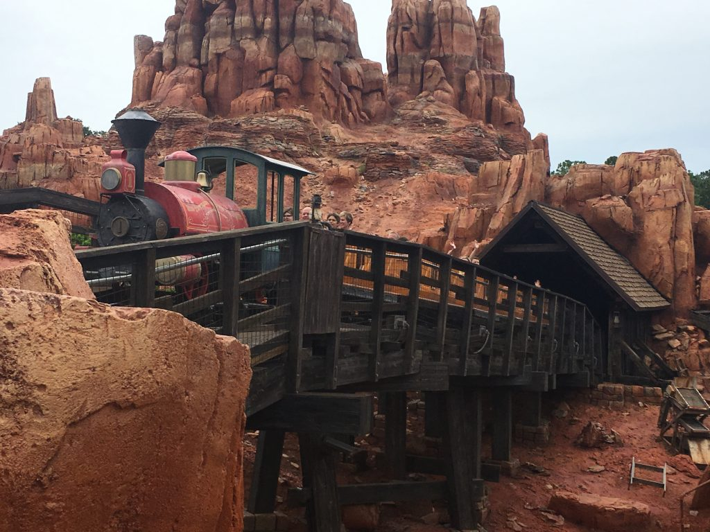 Big Thunder Mountain Magic Kingdom Attractions at the Magic Kingdom