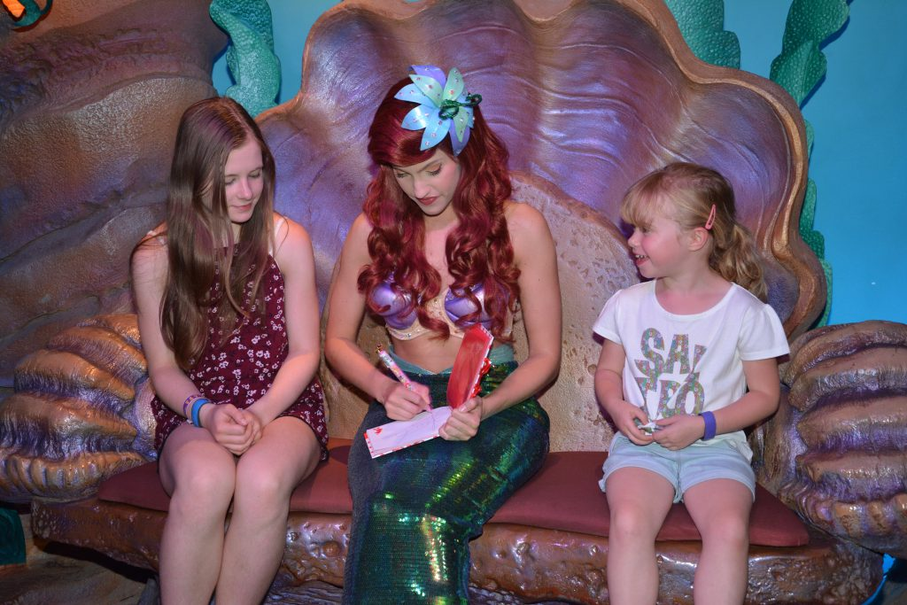 Ariel Grotto Magic Kingdom