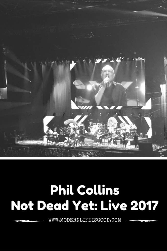 Phil Collins Not Dead Yet Live 2017 Liverpool Echo Arena