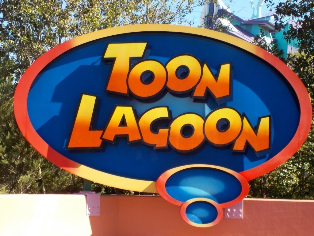 Toon lagoon Islands of Adventure