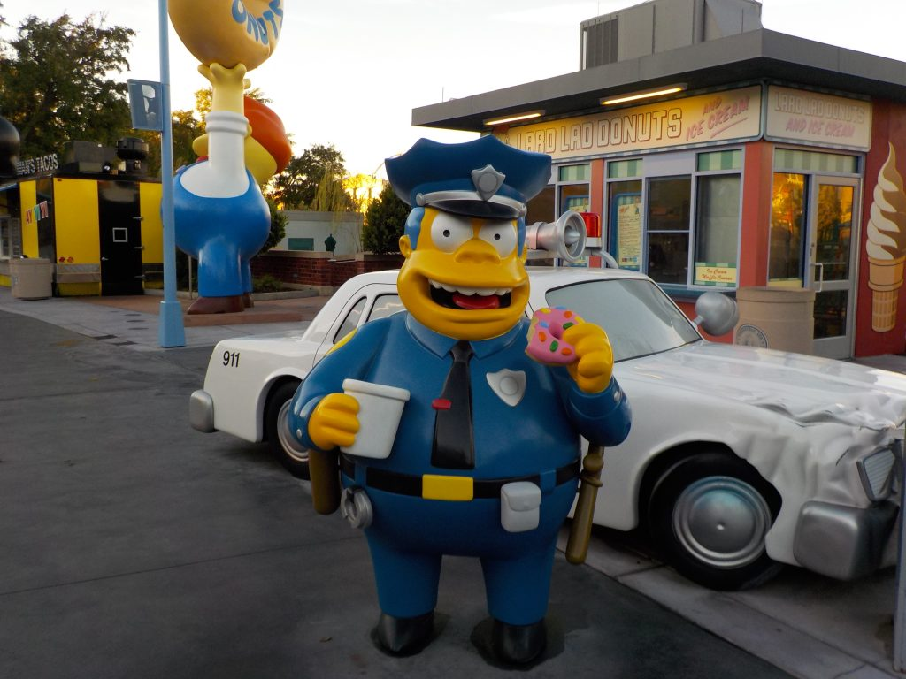 Simpsons in Universal Studios Florida Universal Orlando Resort. Walt Disney World News 2018