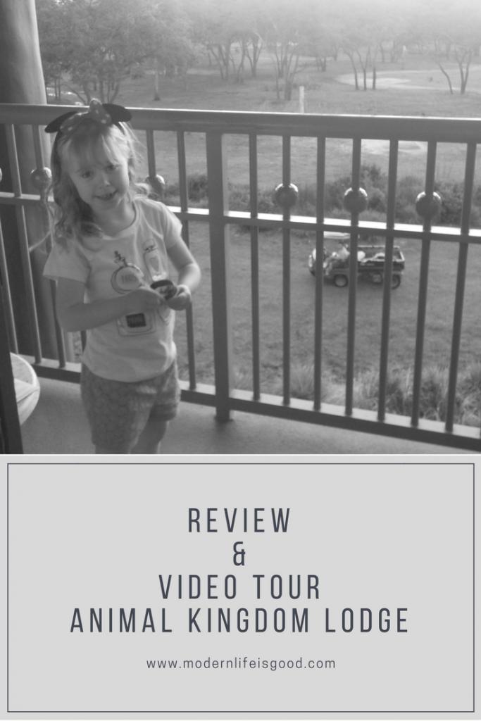 Review & Video Animal Kingdom Lodge