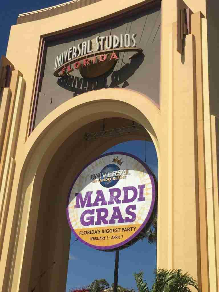 Universal Studios Florida the entrance
