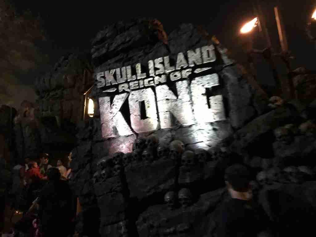 Skull Island Universal Orlando