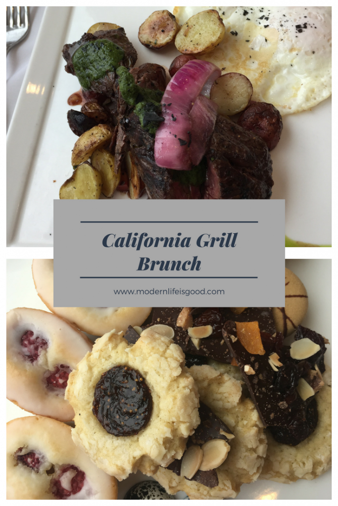 California Grill Brunch at Disney's Contemporary Resort Review including photographs and videos