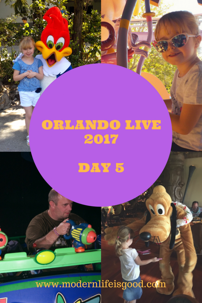 Orlando Live 2017 Day 5 Magic Kingdom and the Scooter menaces