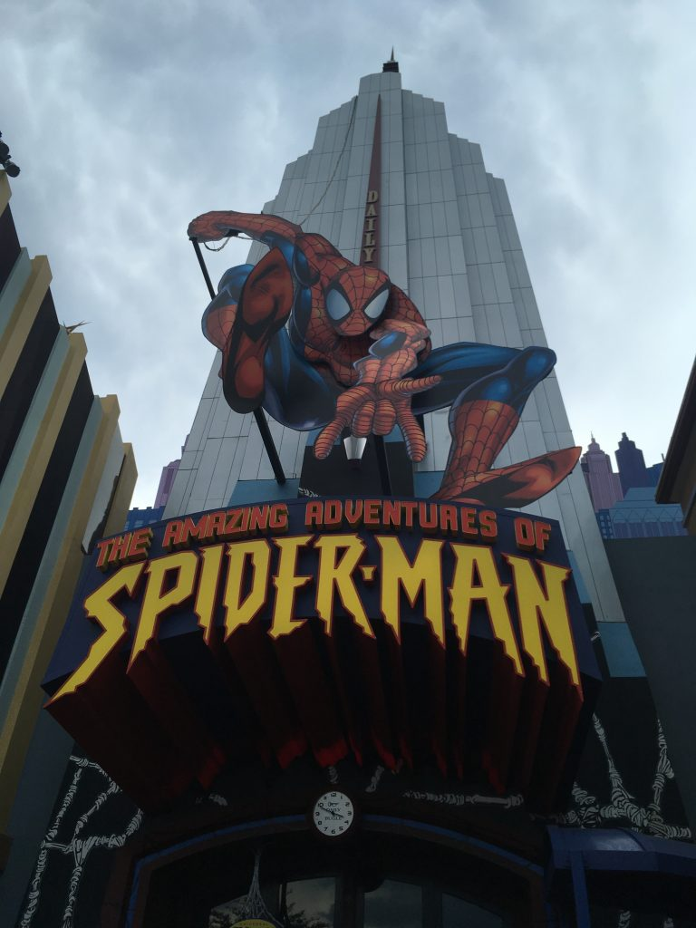The Amazing Adventures of Spider-Man, possibly the best ride at Universal Orlando