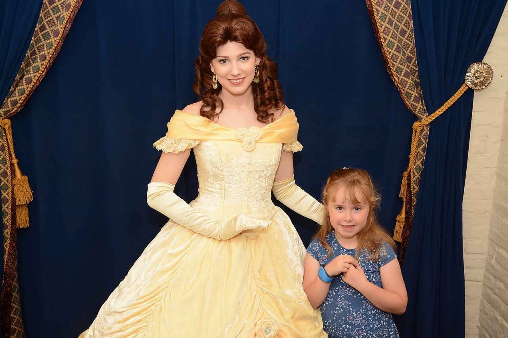 Belle Princess Storybook Dining EPCOT NOrway