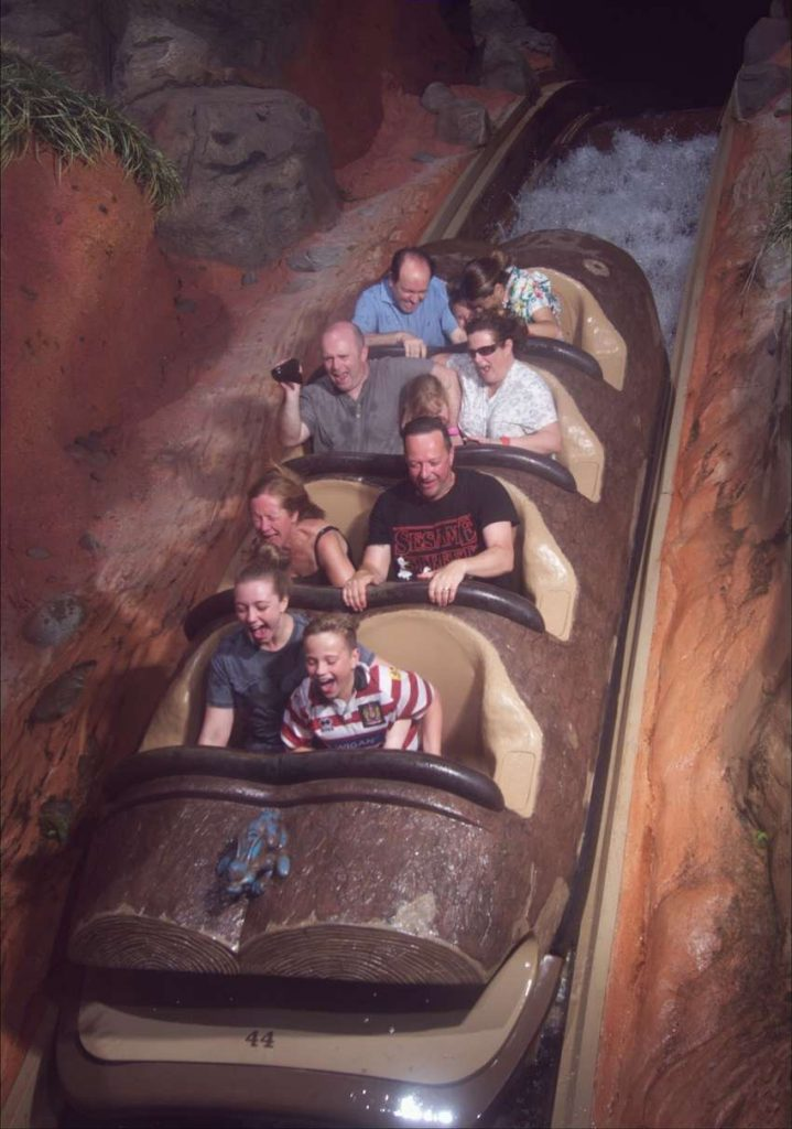 Splash Mountain Magic Kingdom Tricks