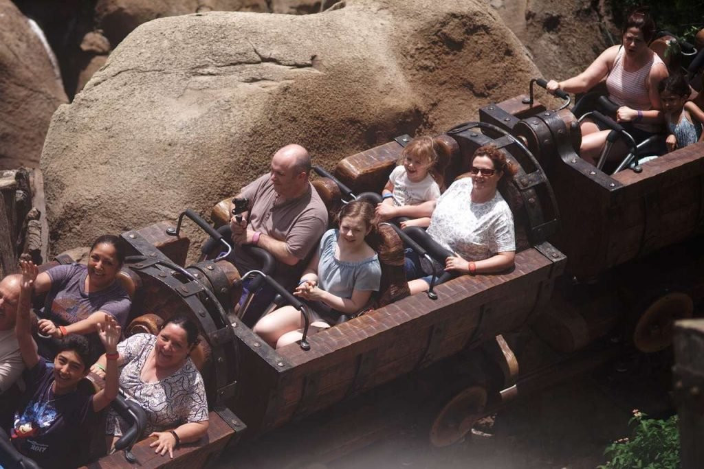 5 Attractions Not to Miss at The Magic Kingdom seven dwarfs mine train
