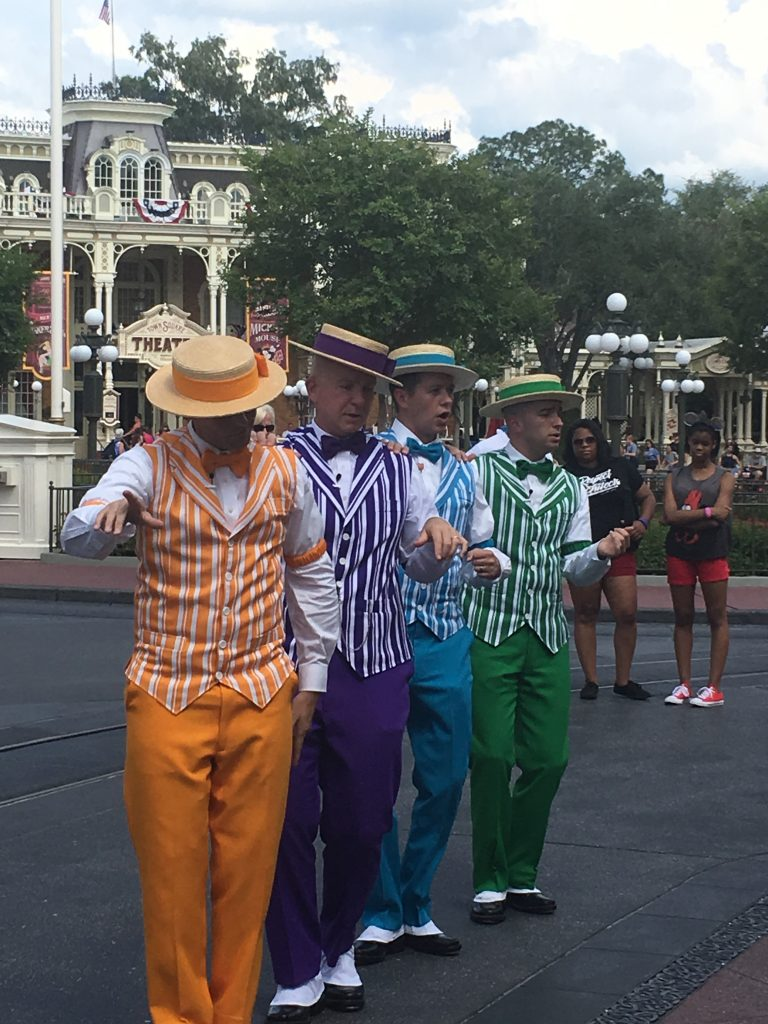 Main Street Barbershop quartet
