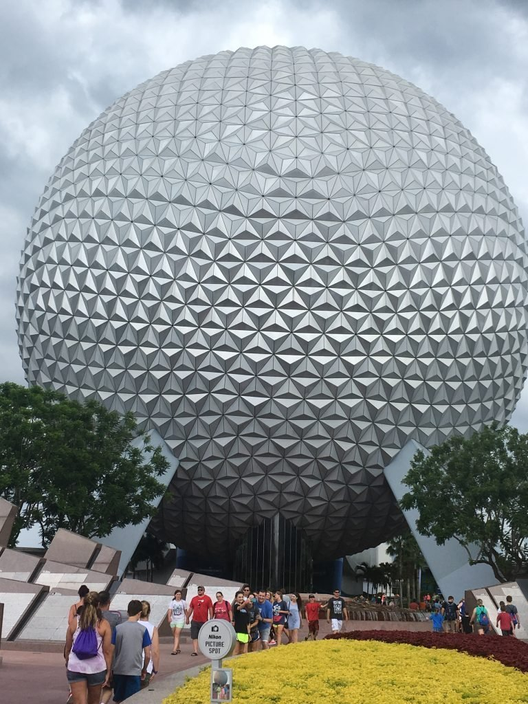 Spaceship Earth Epcot for beginners
