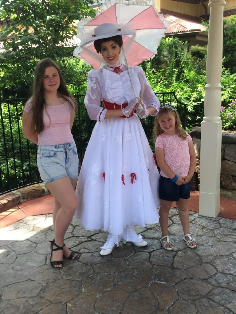 Mary Poppins magic Kingdom