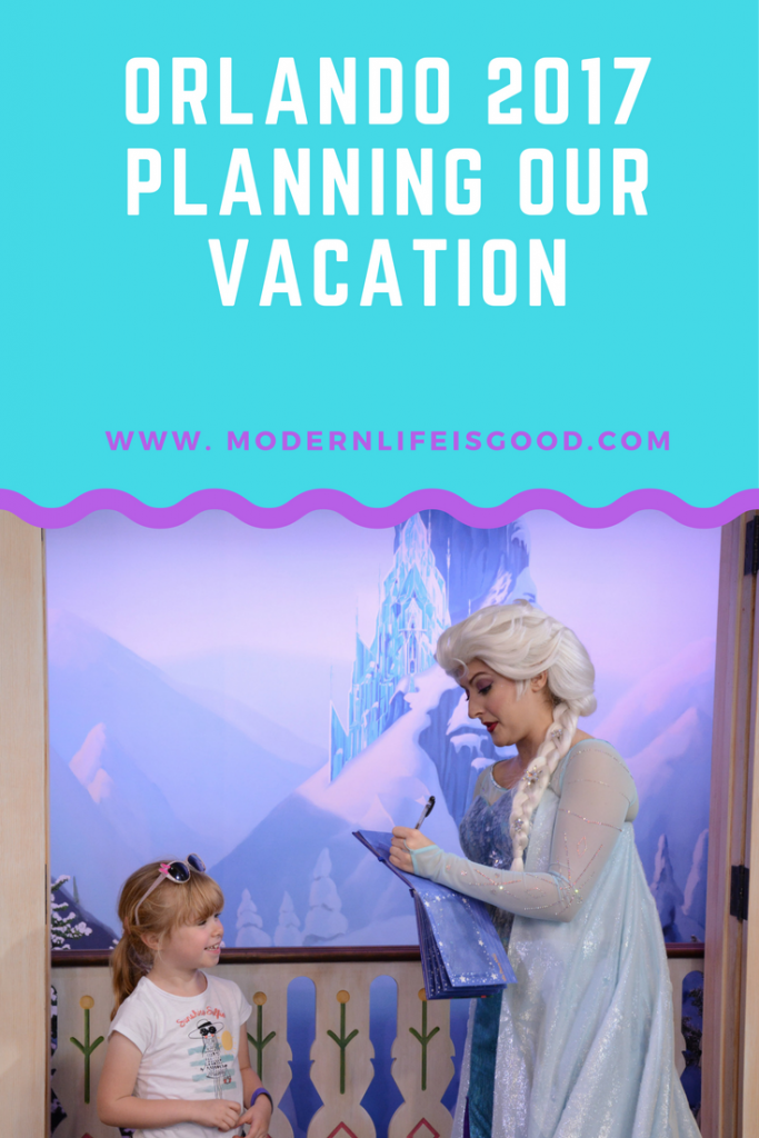 Planning walt disney World and Universal Orlando Vacation