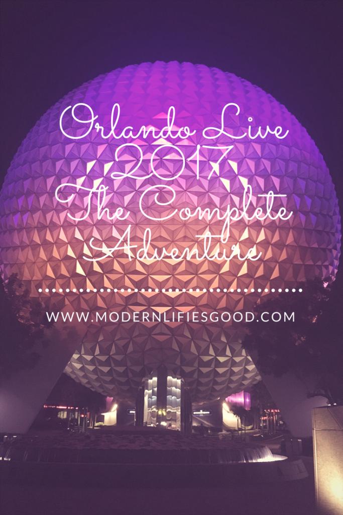 Orlando Live 2017 The Complete Adventure