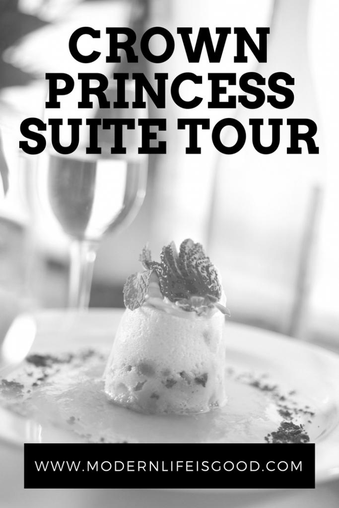 Crown Princess Suite Tour