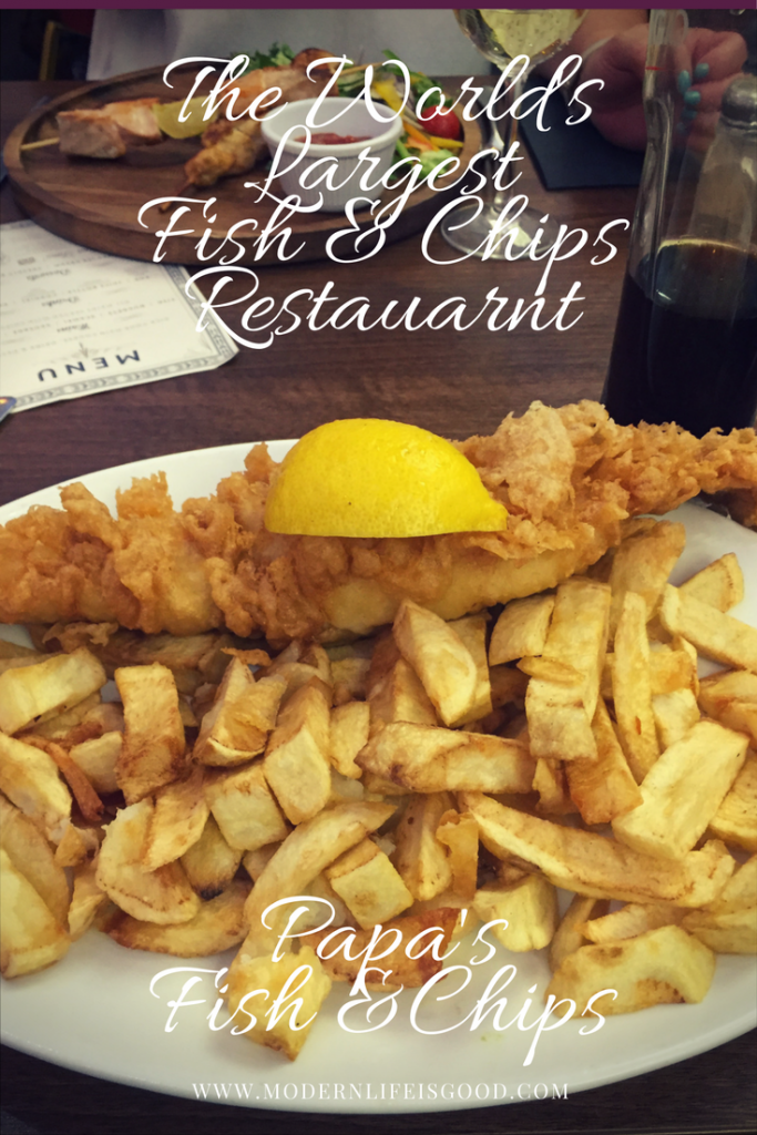 Papa's Fish & Chips have been expanding rapidly in Yorkshire in recent times. They claim to operate the World's Largest Fish and Chips Restaurant. Read our review from their new restaurant at Cleethorpes Pier