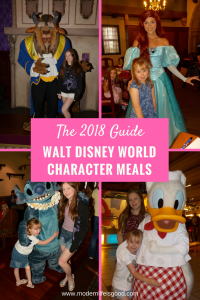 2018 guide to Disney World Character Meals. In addition we have exclusive video footage from many of the venues.