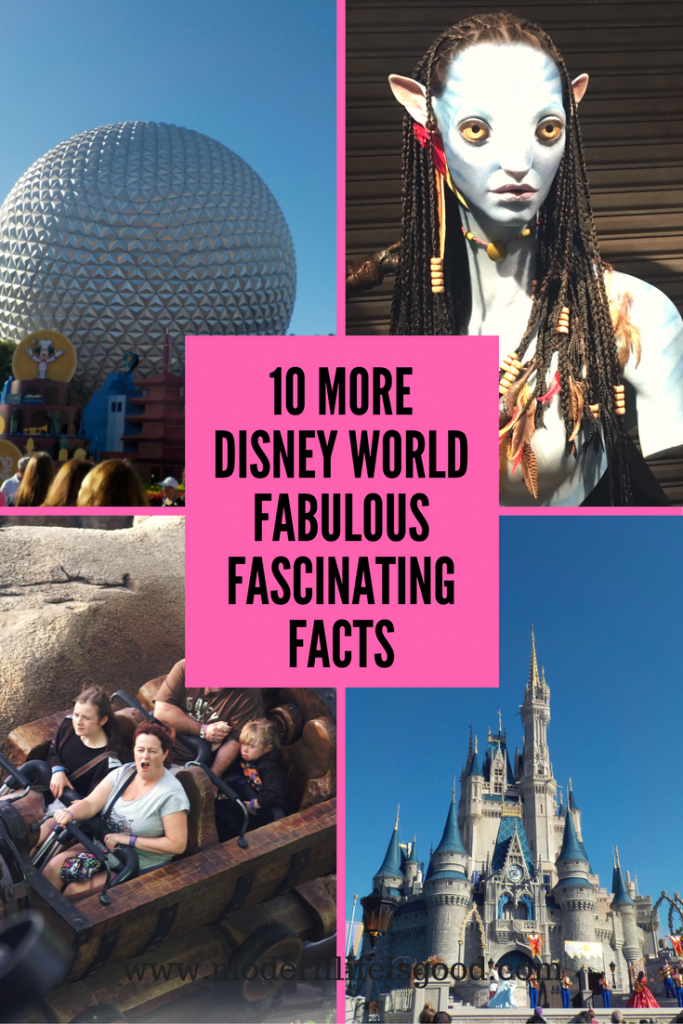 Our first collection of Disney World Fascinating Facts has been very popular. Here are 10 More Disney World Fascinating Facts.