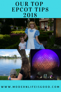 Epcot is a massive theme park which can involve a lot of walking. To maximise your day at Epcot it is essential you have a plan. Our Top Epcot Tips & Hints for 2018  will help you have a great vacation.