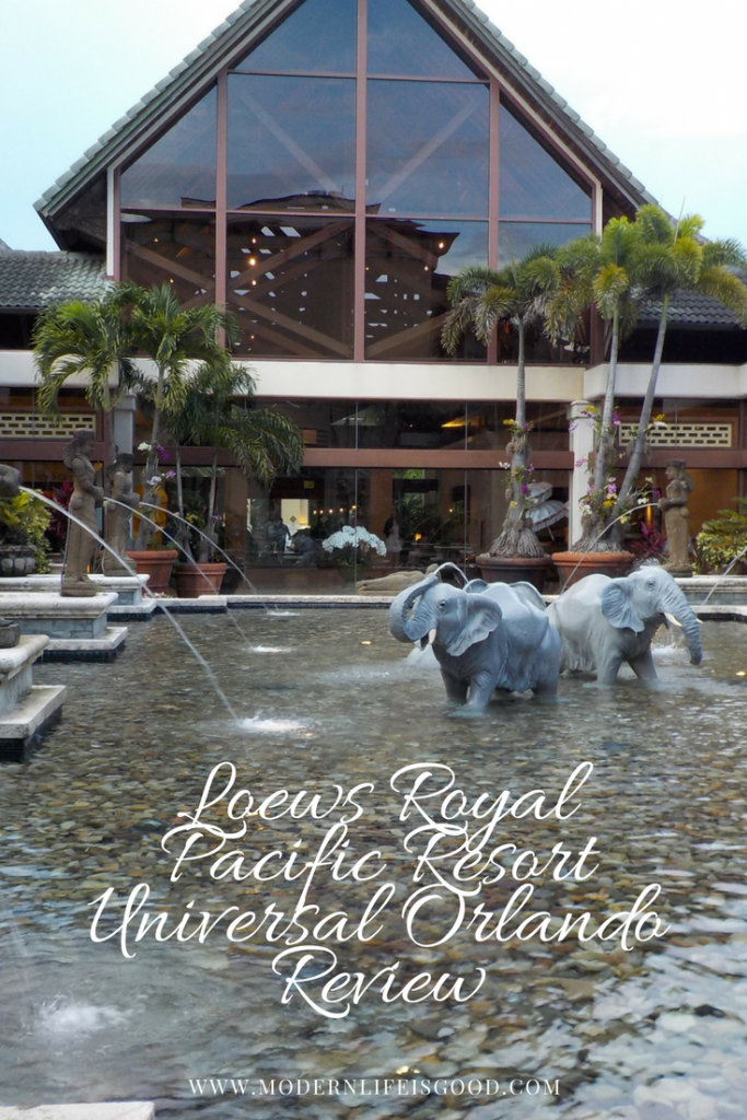 Loews Royal Pacific Resort at Universal Orlando Review and video tour
