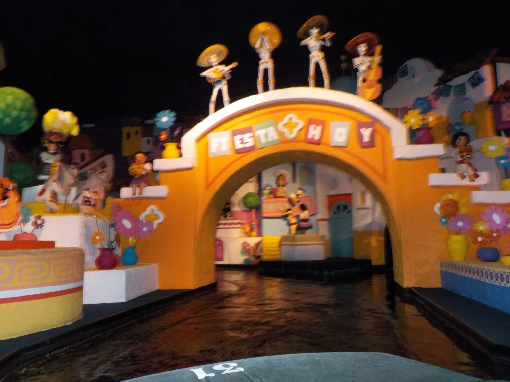 Three Caballeros Epcot Mexico