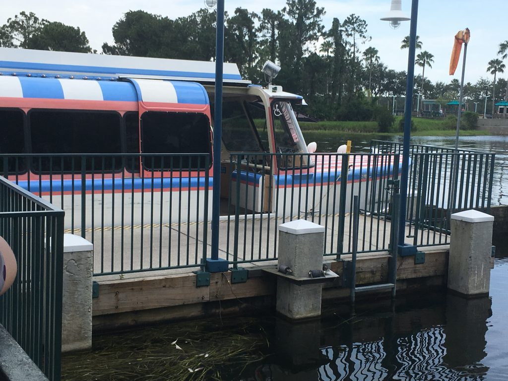 Friendship Boat to Epcot Guide to Disney World Transport