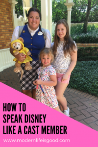 These are some of the most common words you may encounter when visiting Walt Disney World. Soon you will be able to Speak Disney just like The Mouse.