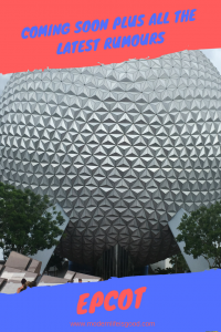 Coming Soon to Epcot